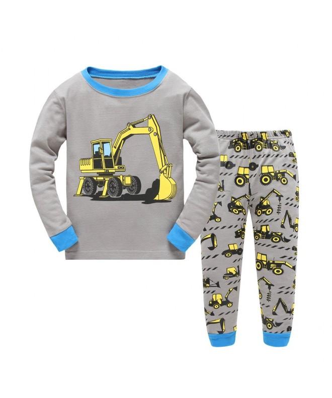 Emyrin Excavator Pajamas Sleepwear Children