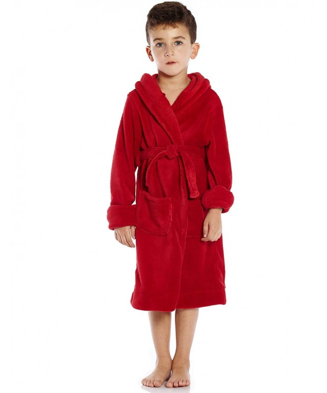 Leveret Hooded Bathrobe Toddler 14 Variety