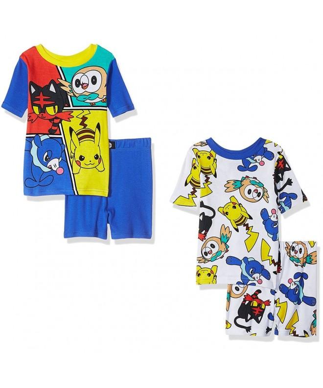 Pokemon Boys piece Pajamas Little