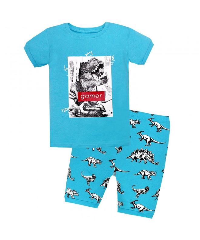 AMGLISE Tyrannosaurus Dinosaur Sleepwear 12M 7Years