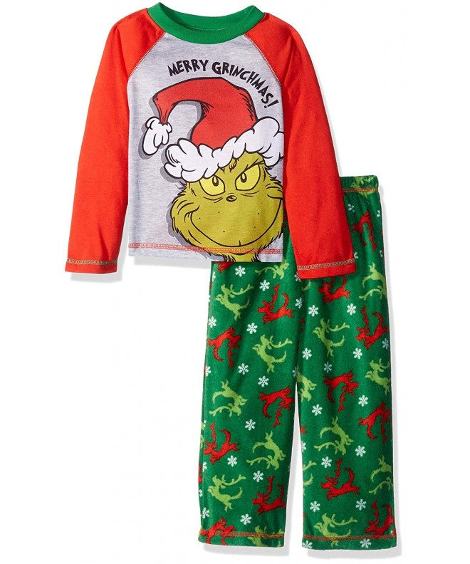 Grinch Boys Toddler Sleep Set