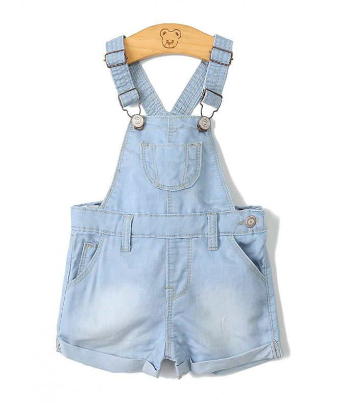 Kidscool Girls Light Summer Shortalls