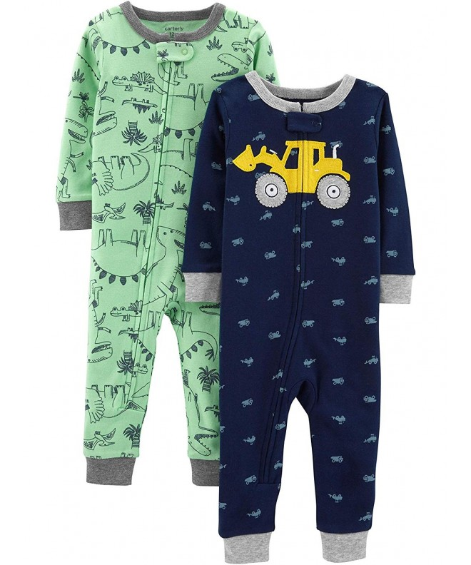 Carters Toddler 2 Pack Footless Pajamas