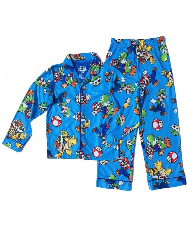 Super Mario Brothers Boys Pajama