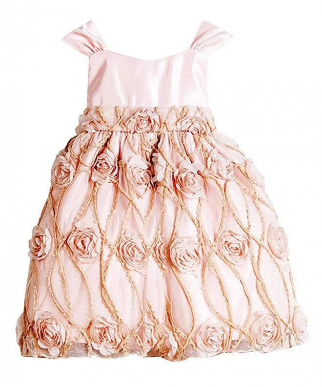 Sweet Kids Shabby Embroidered Pageant