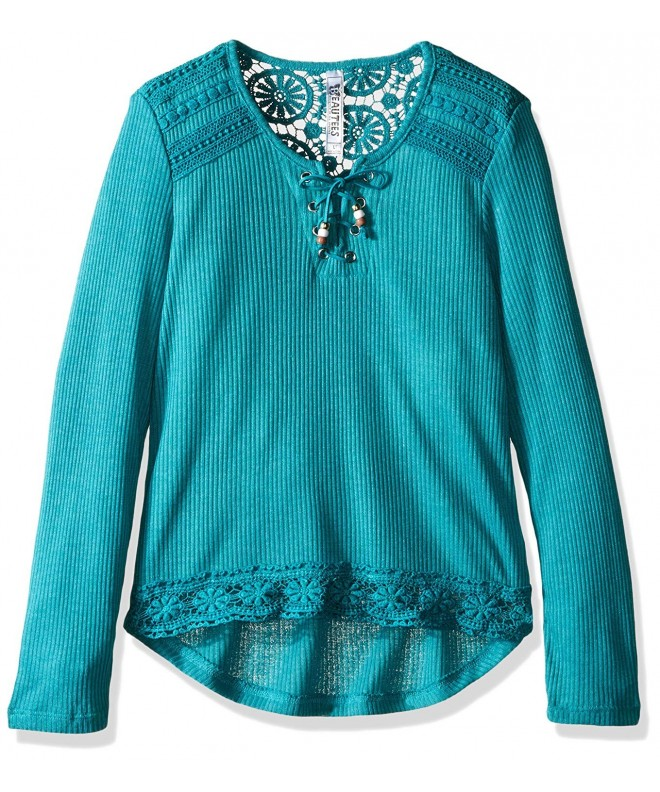 Beautees Girls Big Front Lace