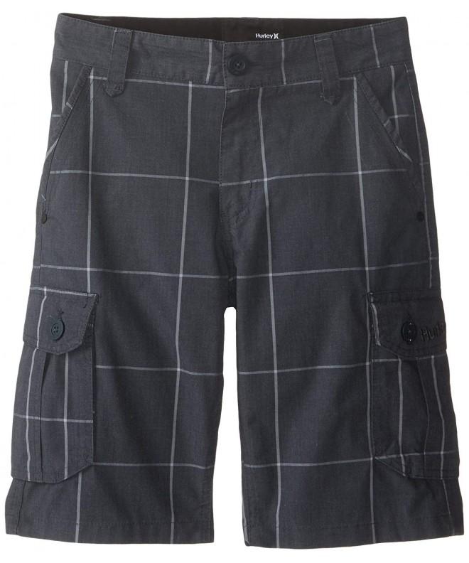 Hurley Plaid Comfort Cargo Short
