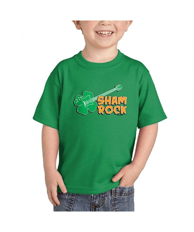 Shamrock Guitar Rockstar Patricks T Shirt