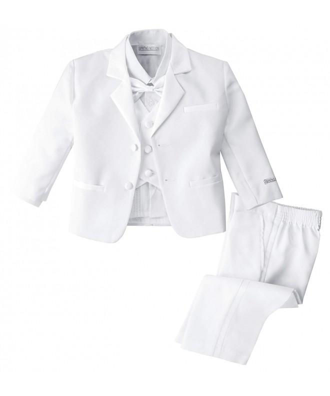 Spring Notion White Classic Tuxedo