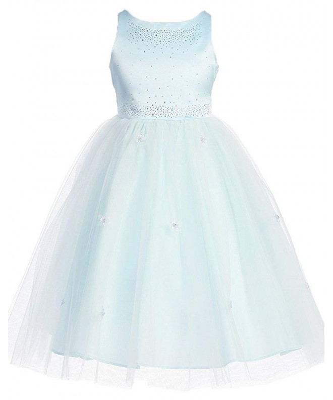 Kid Collection Girls Satin Ballerina