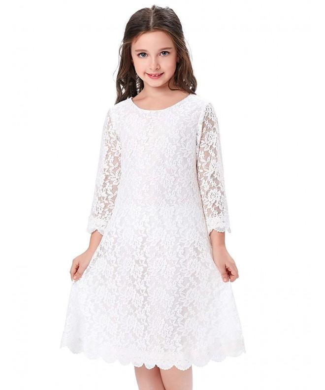 GRACE KARIN Flower Dresses Sleeves