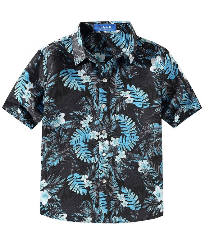 SSLR Summer Button Casual Hawaiian