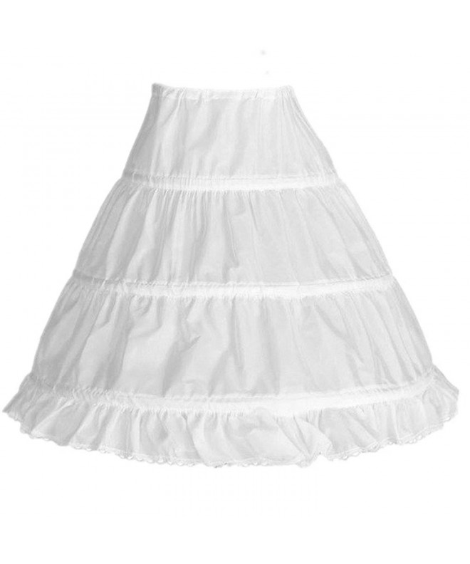 Edress Flower Girls Hoops Petticoat