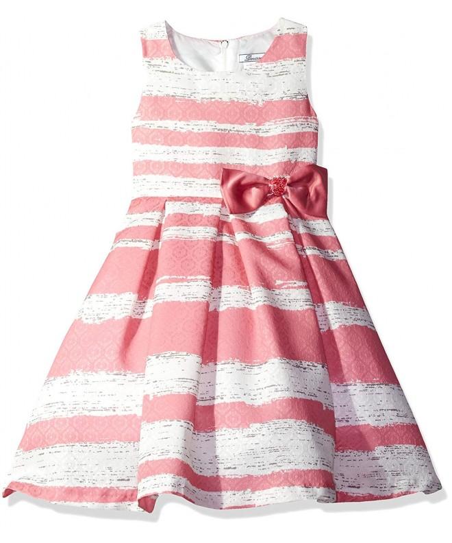 Dorissa Girls Little Novelty Stripe