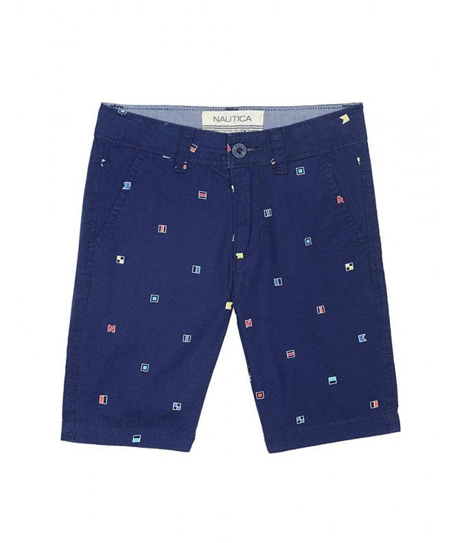 Nautica Boys Printed Front Short