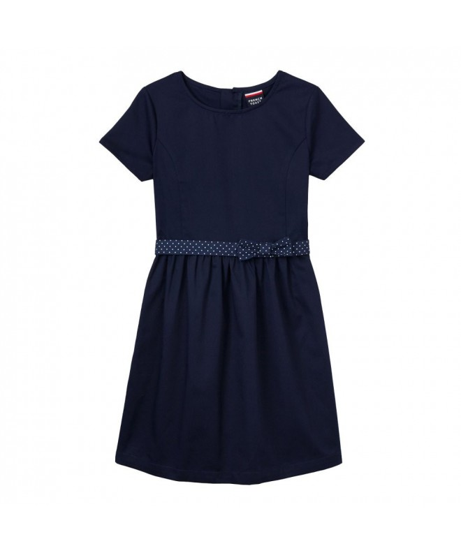 French Toast Girls Flare Dress