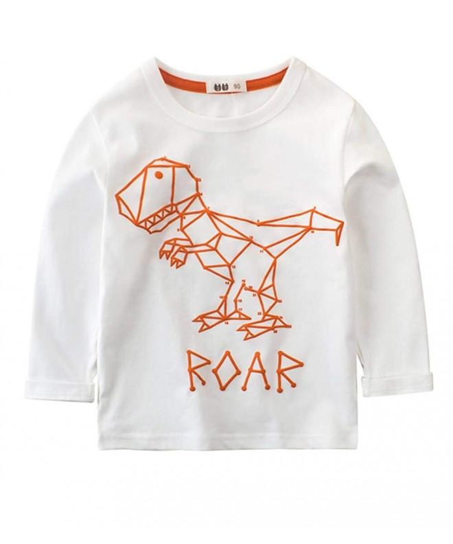 BesserBay Dinosaur T Shirt Crewneck Graphic