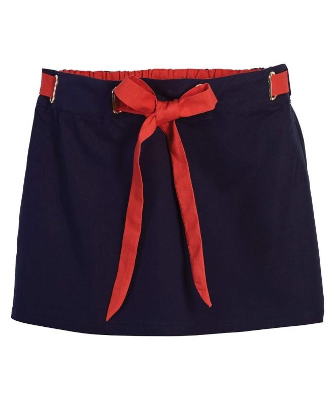 Beachcombers Girls Linen Cotton Elastic