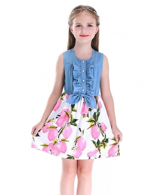 Happy Rose Little Sleeveless Dresses