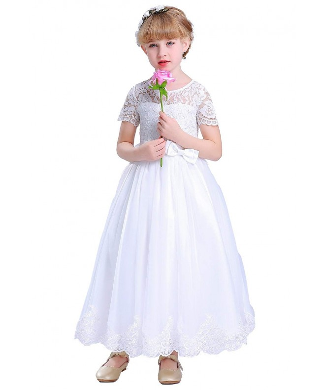 Happy Rose Communion Flower Dresses