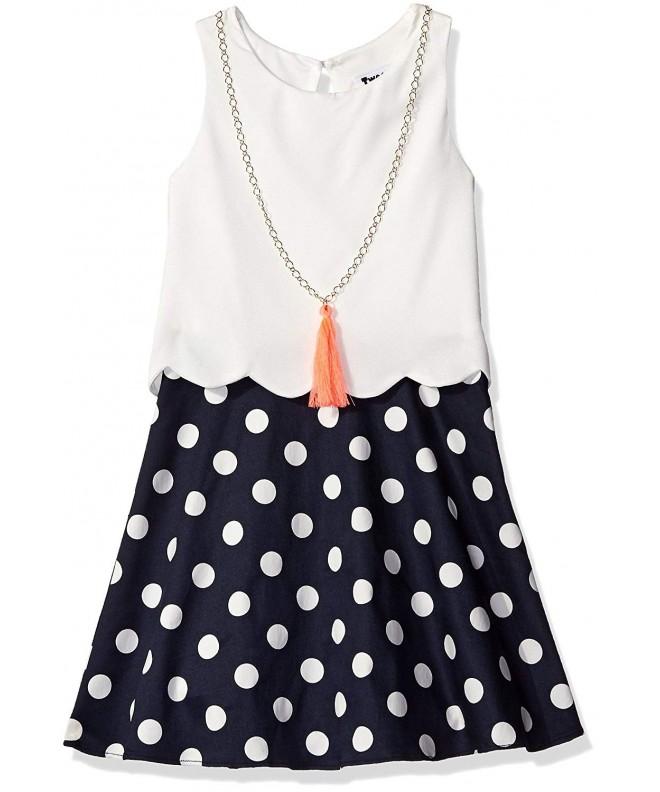 Tween Diva Girls Ivory Necklace