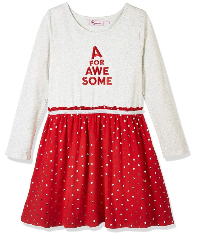 Awesome Youth Girls Sleeve Dress