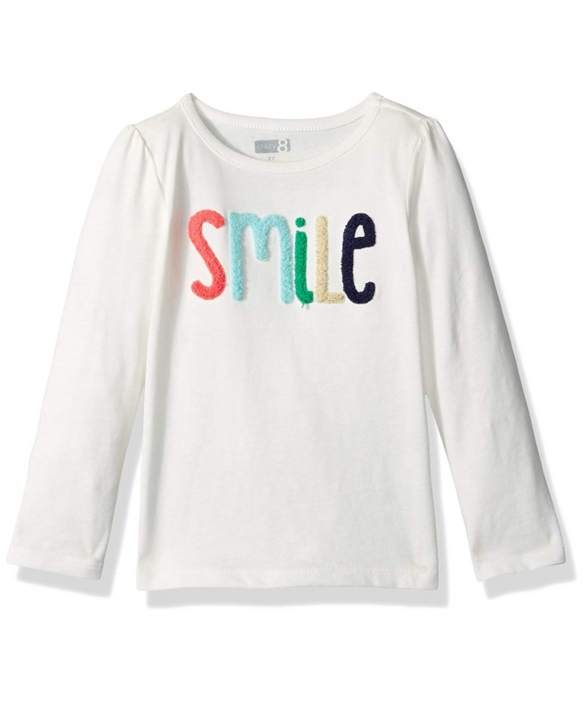 Crazy Girls Toddler Long Sleeve Smile