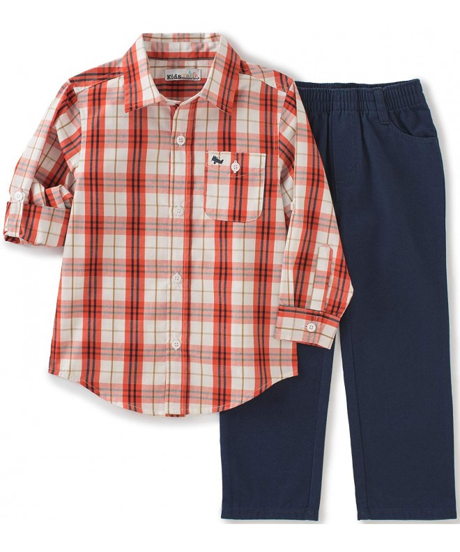 Kids Headquarters Pieces Woven Set red