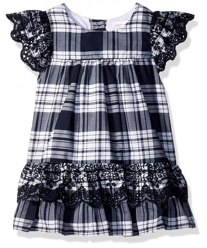 Youngland Girls Casual Plaid Dress