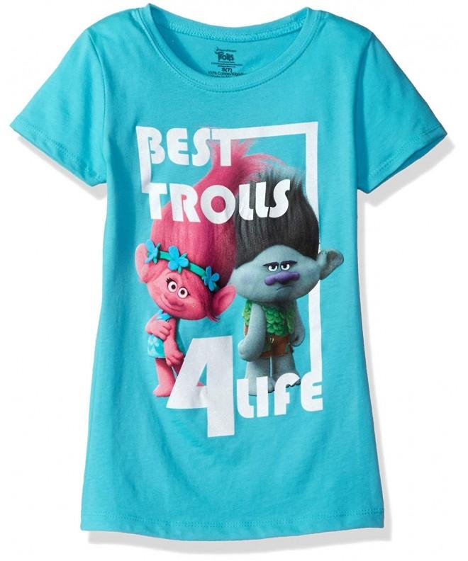 Trolls Girls 4 Life Sleeve T Shirt