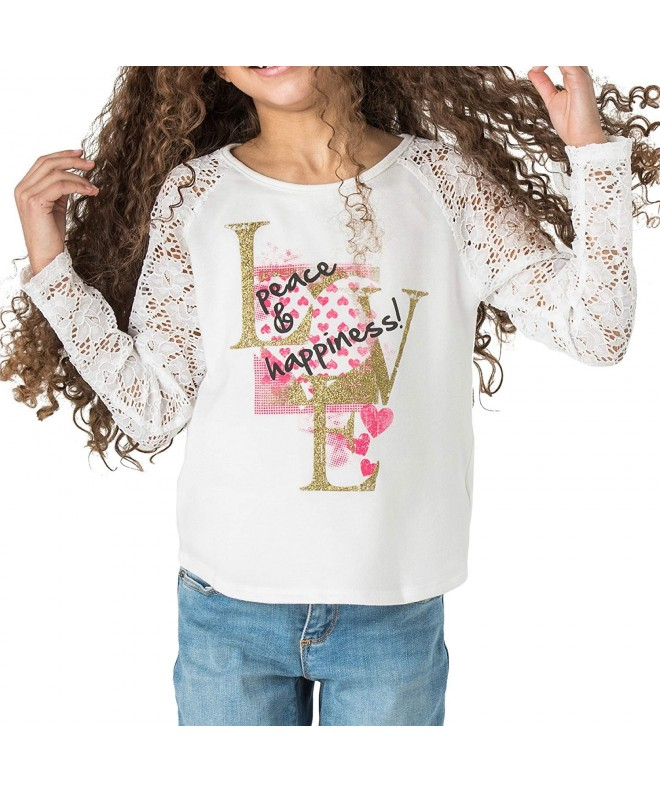 FashionxFaith Girls Long Sleeve Shirts