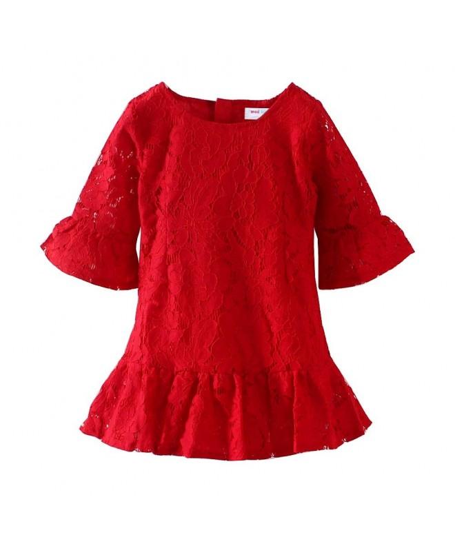 LittleSpring Little Girls Dress Christmas