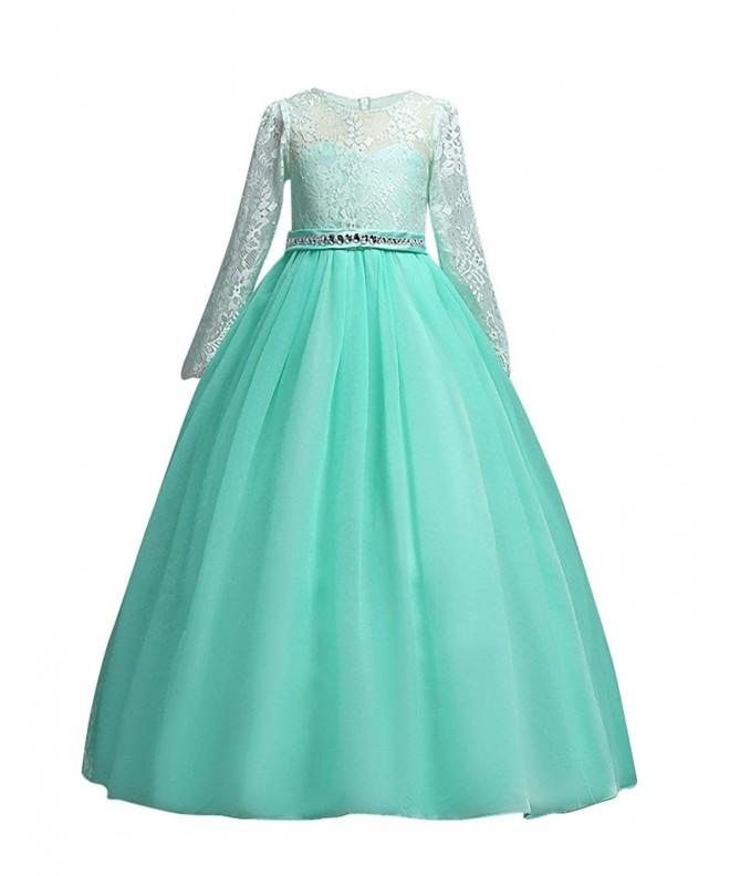 DOCHEER Wedding Bridesmaid Length Dresses