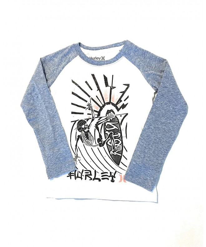 Hurley Little Skeleton Surfer T Shirt