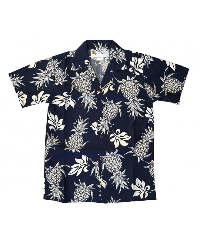 Pineapple Hawaiian Cruise Aloha Shirt