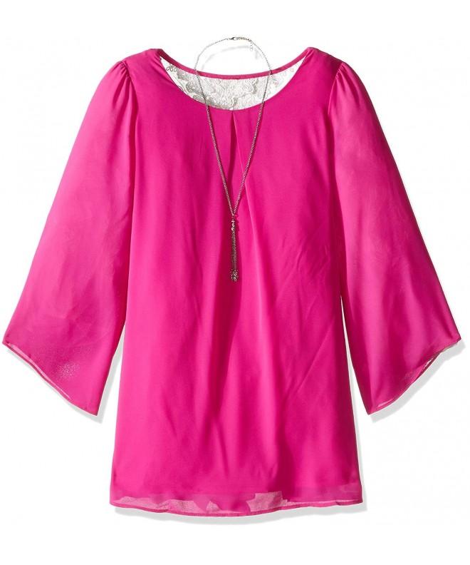 Amy Byer Girls Sleeve Dress