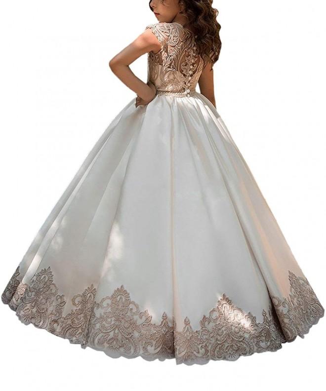 Hengyud Pageant Dresses Communion Princess