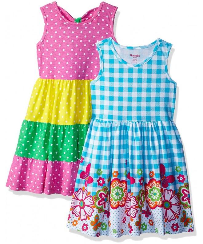 Nannette Girls Pack Knit Dresses