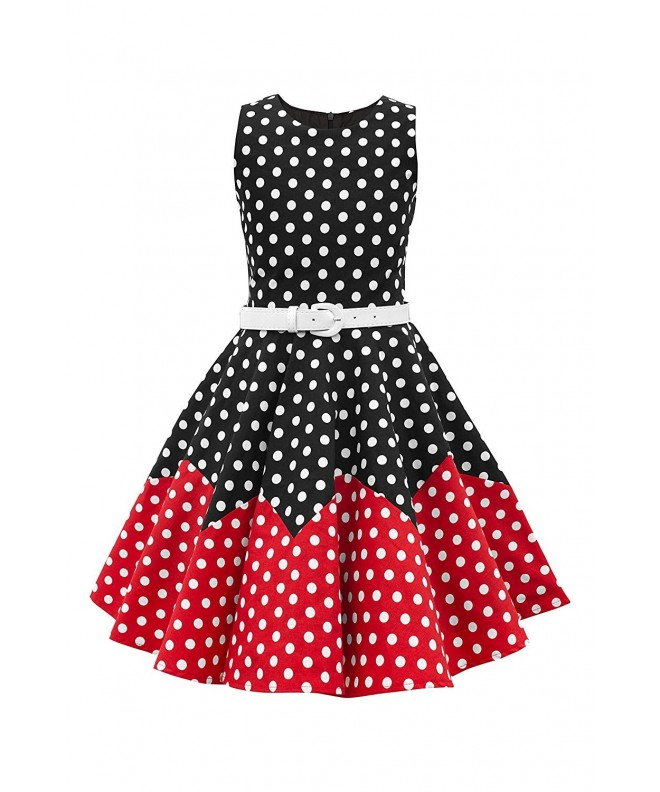 BlackButterfly Vintage Polka Girls Dress
