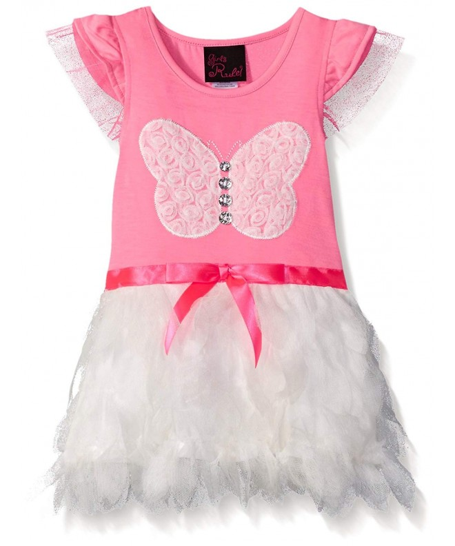 Girls Rule Dress Tulle Petal
