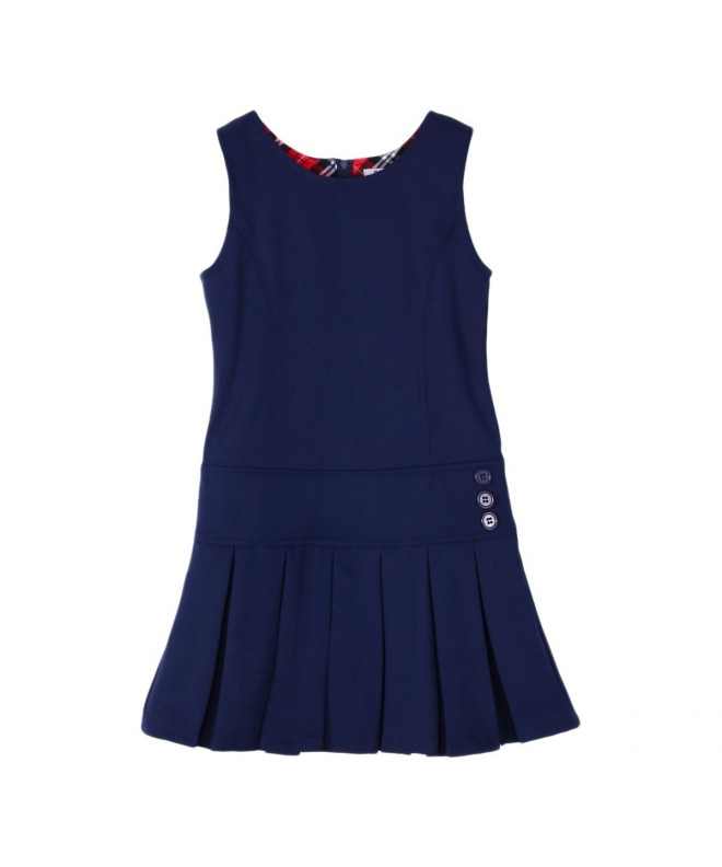 Bienzoe Pleated School Uniform Jumper