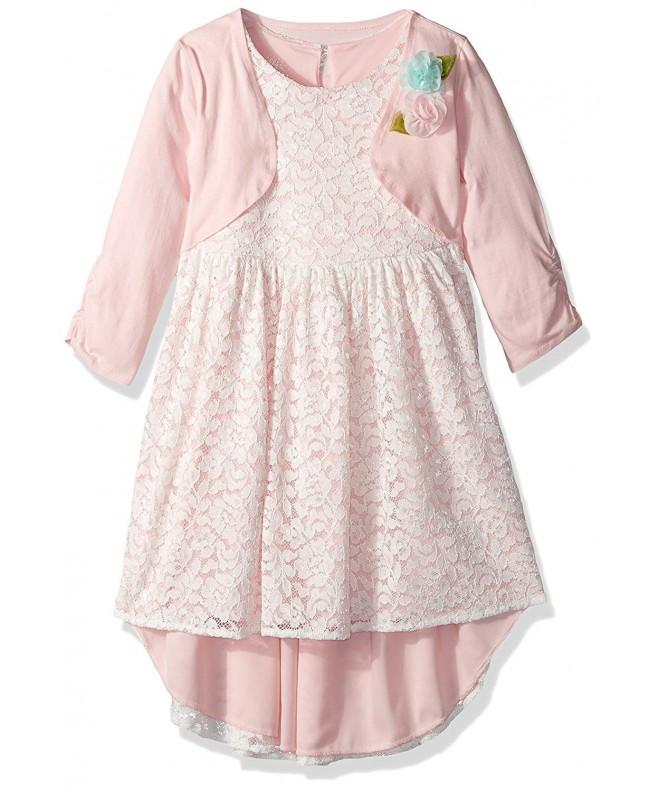 Marmellata Girls Dress with Shrug