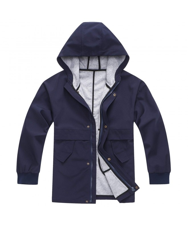 BINPAW Hooded Waterproof Outdoor Jacket