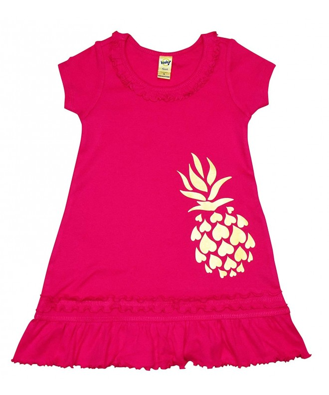 Hoomana Maui Toddler Pineapple Sundress