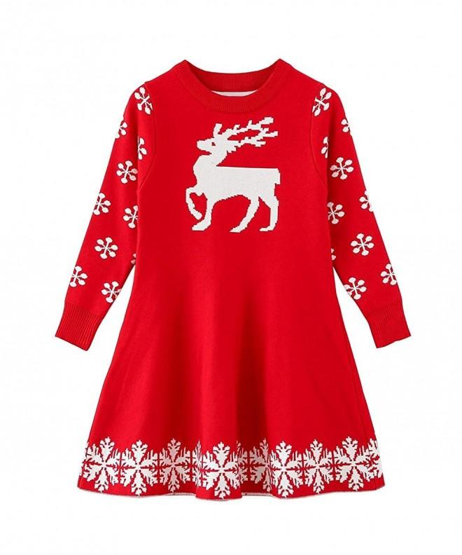 SMILING PINKER Christmas Reindeer Snowflake