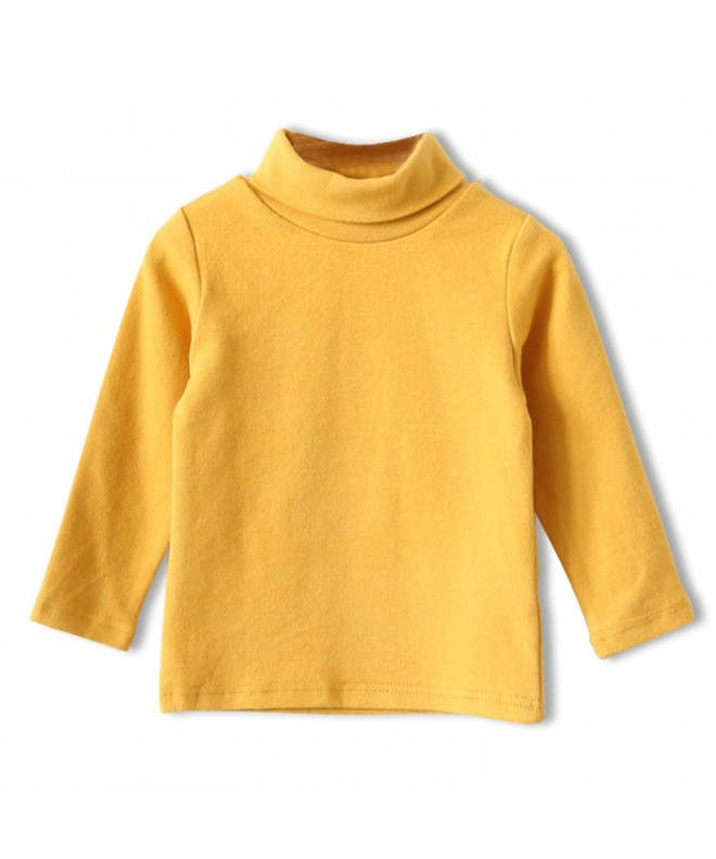 CUNYI Little Turtleneck Sleeve T Shirts