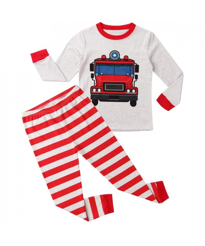 Hsctek Pajamas Children Sleepear Clothes