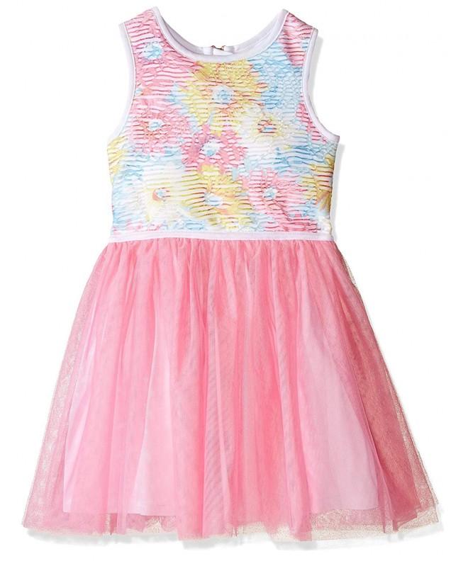 Marmellata Girls Sleeveless Party Dress