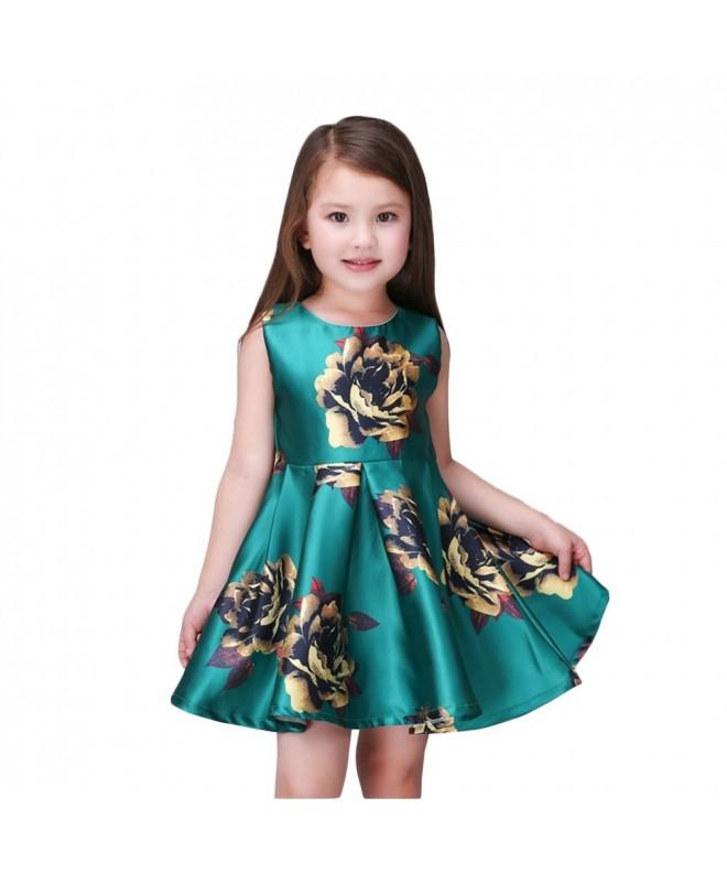 Kidscool Little Sleeveless Yellow Princess
