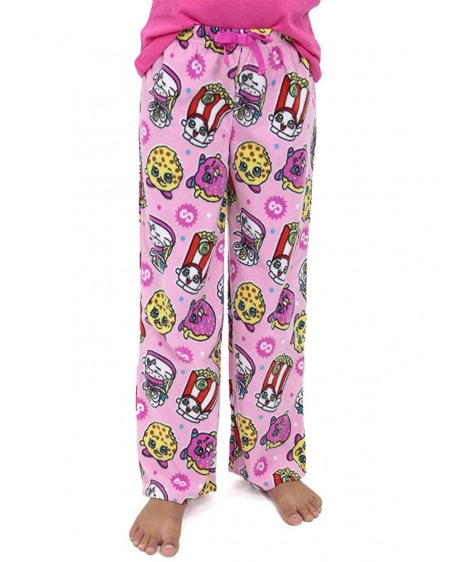 Shopkins Girls Fleece Pajama Lounge